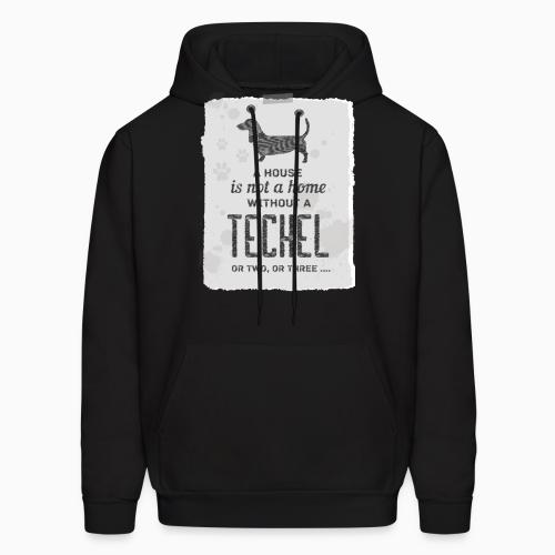 A house is not a home without a teckel or two , or three ... - Dog Breeds Hooded sweatshirt