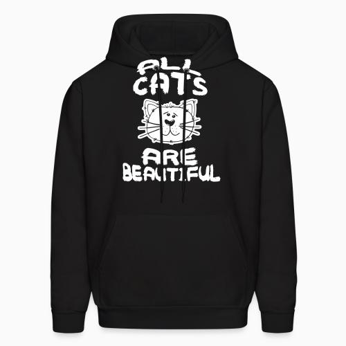 All cats are beautiful - Cats Lovers Hooded sweatshirt