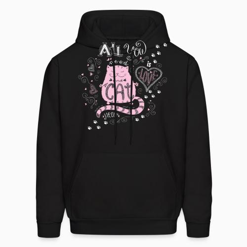 all you cat meow - Cats Lovers Hooded sweatshirt