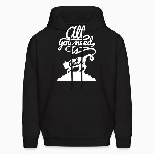 All you need is cats  - Cats Lovers Hooded sweatshirt