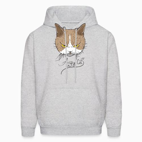 Angry Cat  - Cats Lovers Hooded sweatshirt