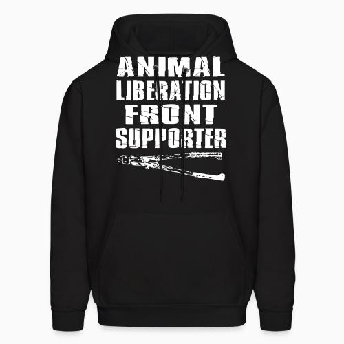 Animal liberation front supporter - Animal Rights Activism Hooded sweatshirt