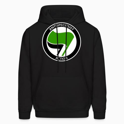 Antispeciesist action - Animal Rights Activism Hooded sweatshirt