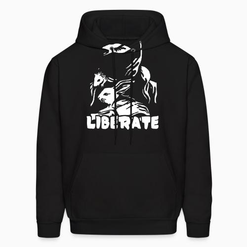 Liberate - Animal Rights Activism Hooded sweatshirt