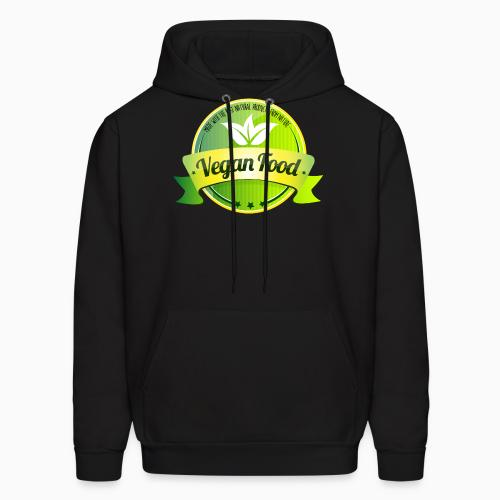 Made with the best natural product from nature Vegan food  - Vegan Hooded sweatshirt