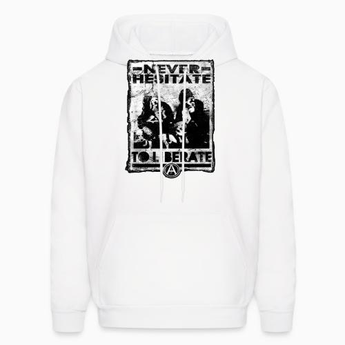 Never hesitate to liberate - Animal Rights Activism Hooded sweatshirt