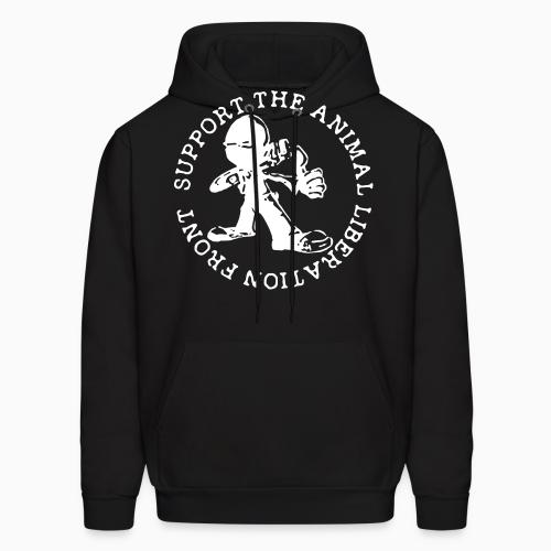 Support the Animal Liberation Front (ALF) - Animal Rights Activism Hooded sweatshirt