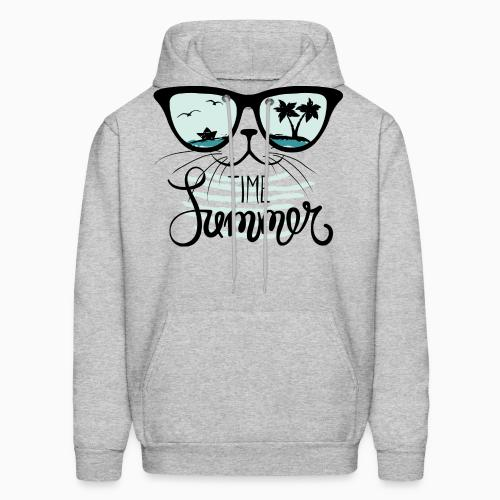 Time summer  - Cats Lovers Hooded sweatshirt