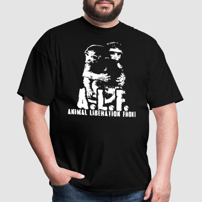 A.L.F Animal Liberation Front - Animal Rights Activism T-shirt