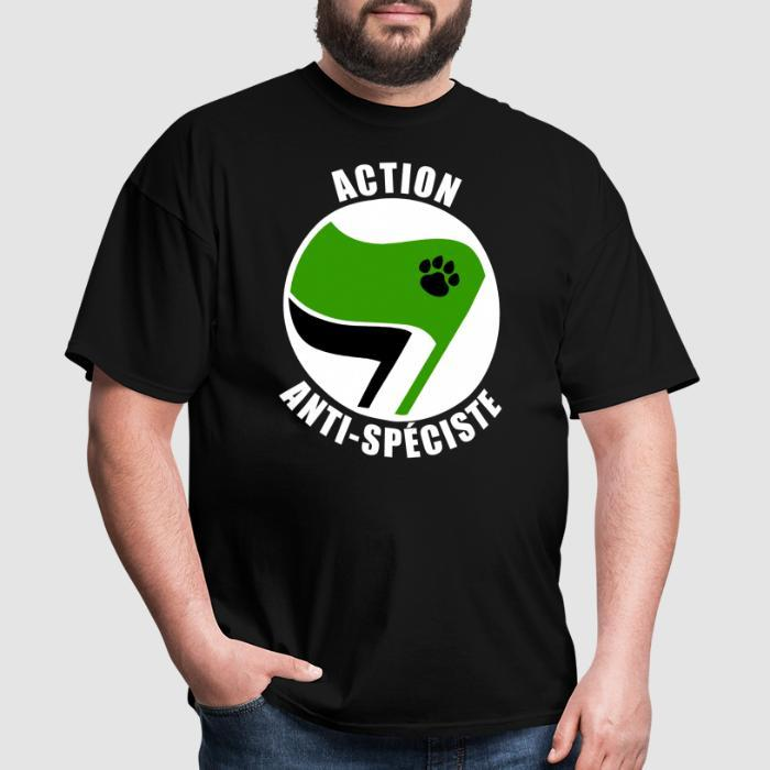 Action Anti-Spéciste - Animal Rights Activism T-shirt