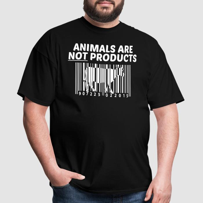 Animals are not products - Animal Rights Activism T-shirt