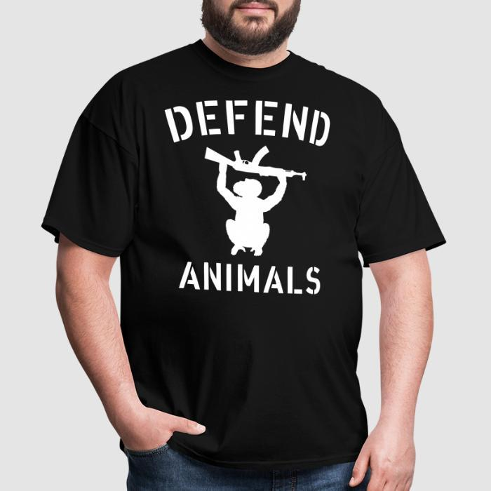 Defend animals - Animal Rights Activism T-shirt