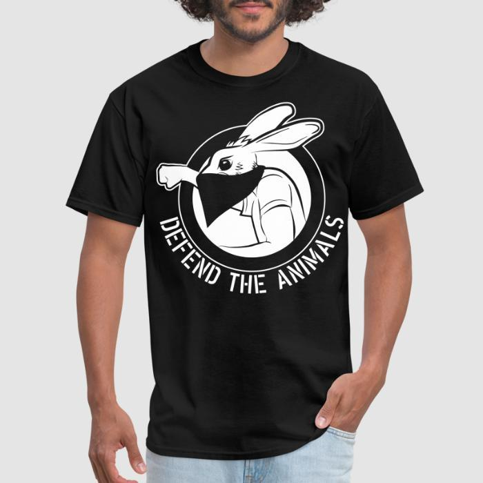 Defend the animals - Animal Rights Activism T-shirt