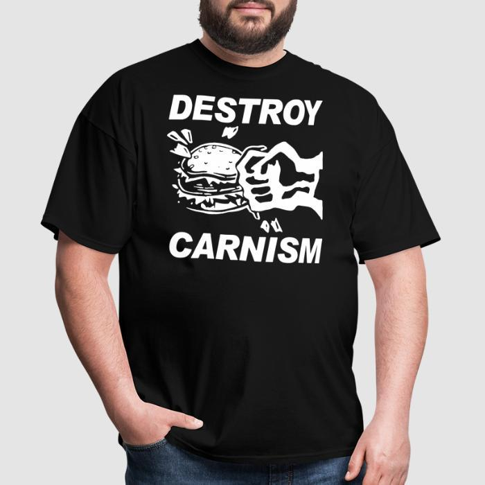 Destroy carnism - Vegan T-shirt