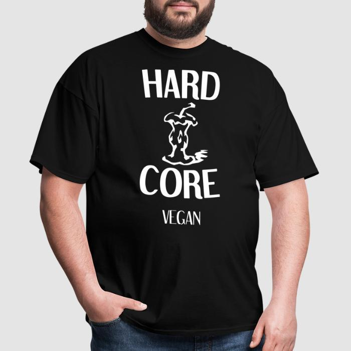 Hardcore vegan - Vegan T-shirt