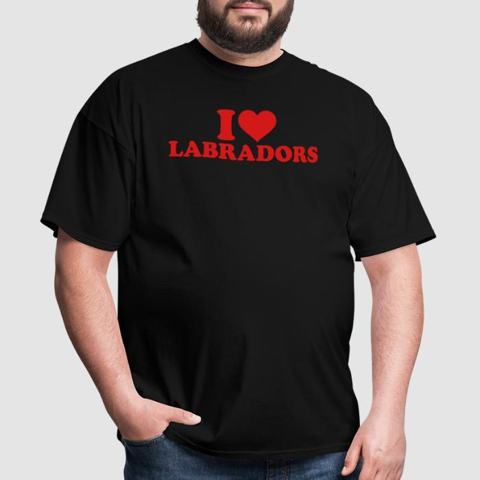I love labradors  - Dog Breeds T-shirt
