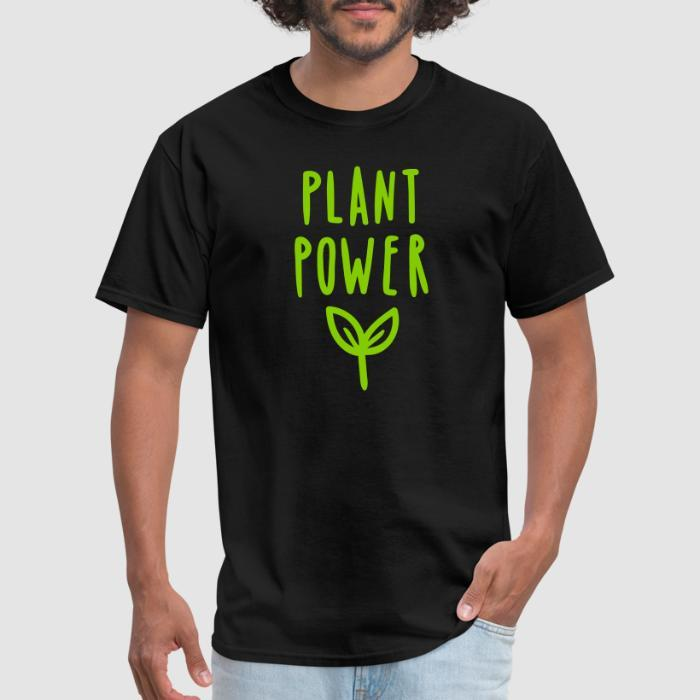 plant power - Vegan T-shirt