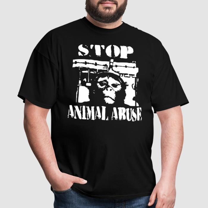 Stop animal abuse - Animal Rights Activism T-shirt