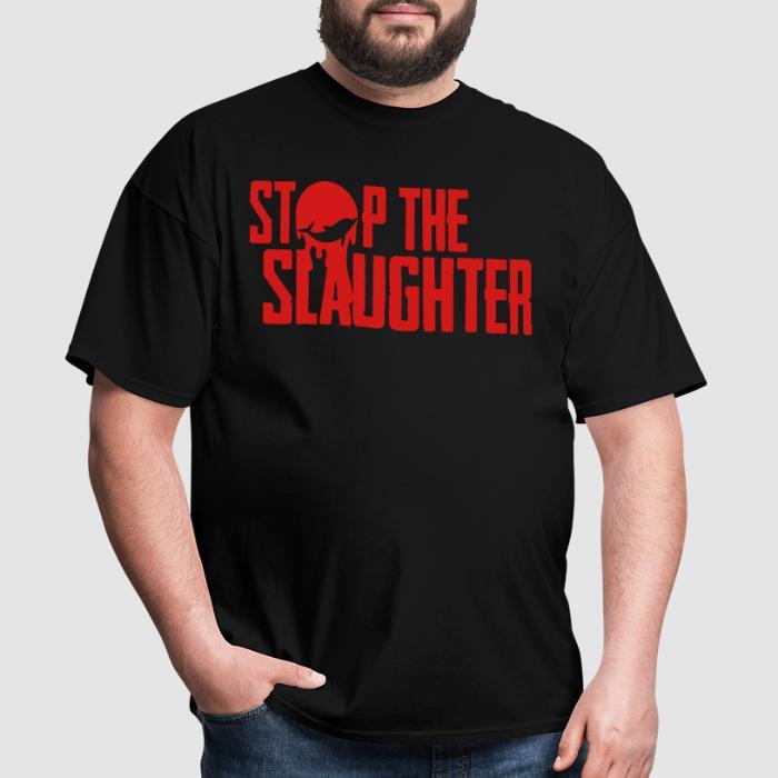 Stop the slaughter - Animal Rights Activism T-shirt