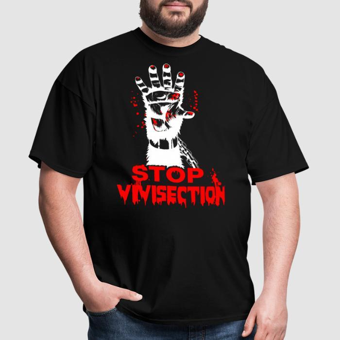 Stop vivisection - Animal Rights Activism T-shirt