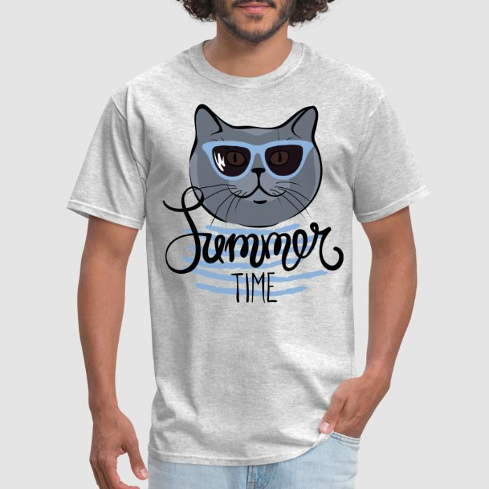 Summer time  - Cats Lovers T-shirt