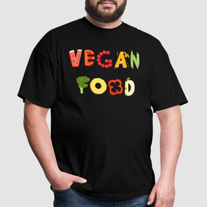 Vegan food  - Vegan T-shirt