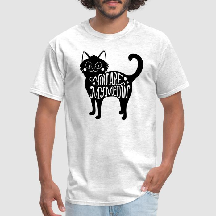 Party Animal Meow and Then Cat Black Toddler T-Shirt