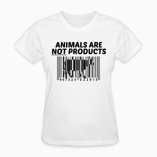 Animals are not products - Animal Rights Activism Women T-shirt