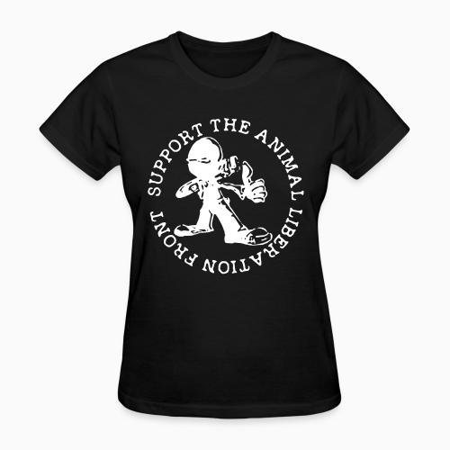 Support the Animal Liberation Front (ALF) - Animal Rights Activism Women T-shirt