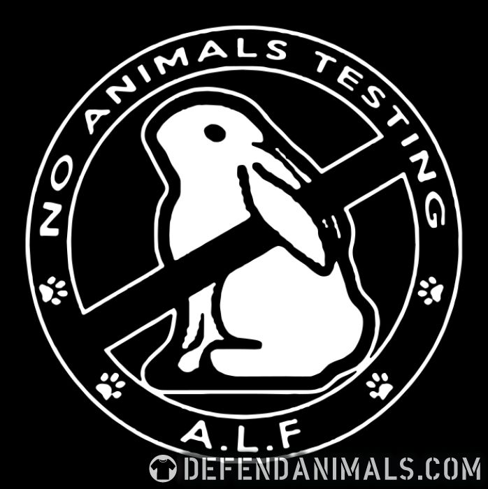 A.L.F. no animals testing - Animal Rights Activism Zip hoodie