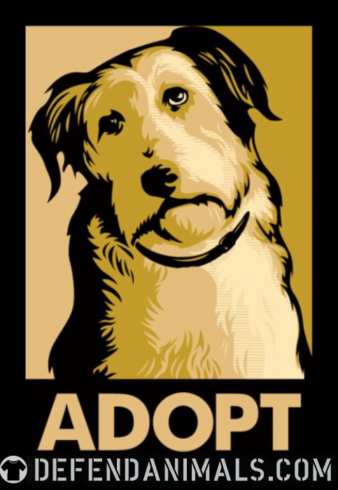 Adopt - Dogs Lovers T-shirt