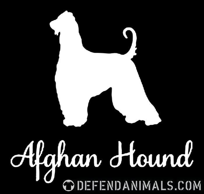 Afghan Hound  - Dog Breeds Women Organic T-shirt