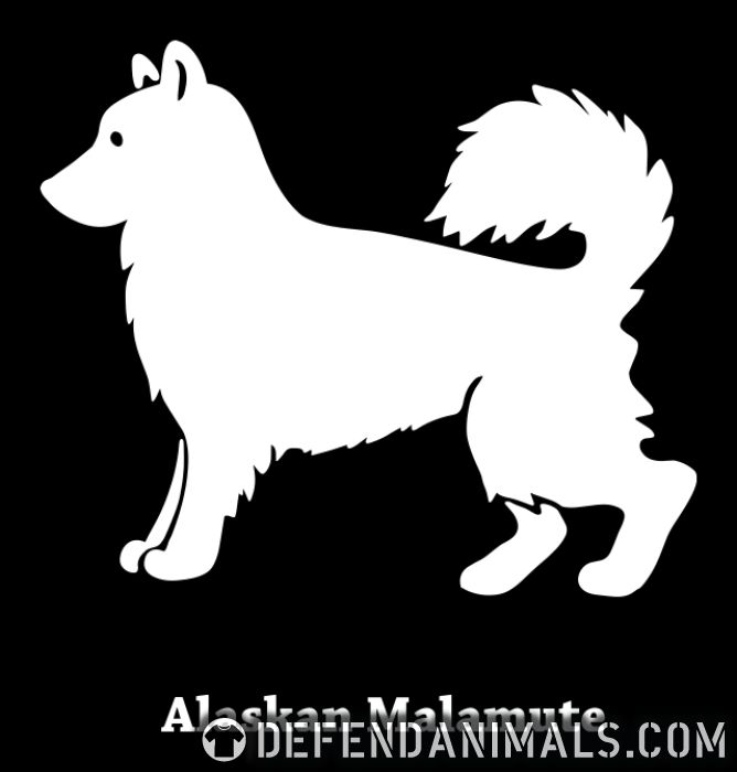 Alaskan Malamute  - Dog Breeds Women Organic T-shirt