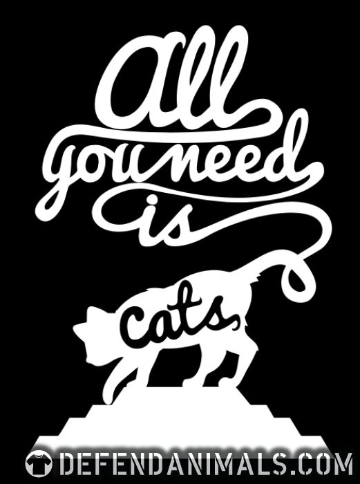 All you need is cats  - Cats Lovers Women Organic T-shirt