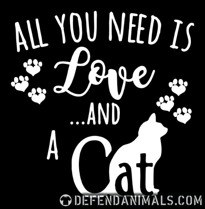 All you need is love ...and a cat  - Cats Lovers Women tank tops