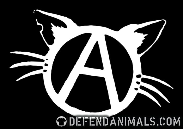 Anarchy cat - Cats Lovers Women Organic T-shirt