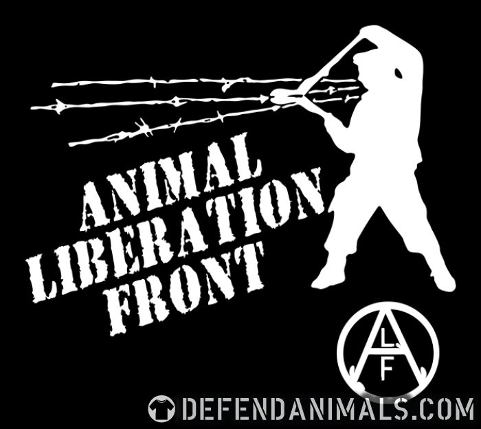 Animal Liberation Front - ALF - Animal Rights Activism Tank top