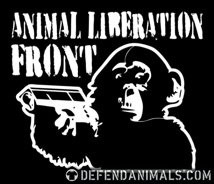 Animal liberation front - Animal Rights Activism T-shirt
