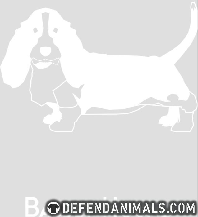 Basset Hound  - Dog Breeds Women Organic T-shirt