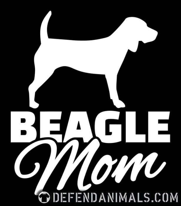 Beagle mom - Dog Breeds Women Organic T-shirt