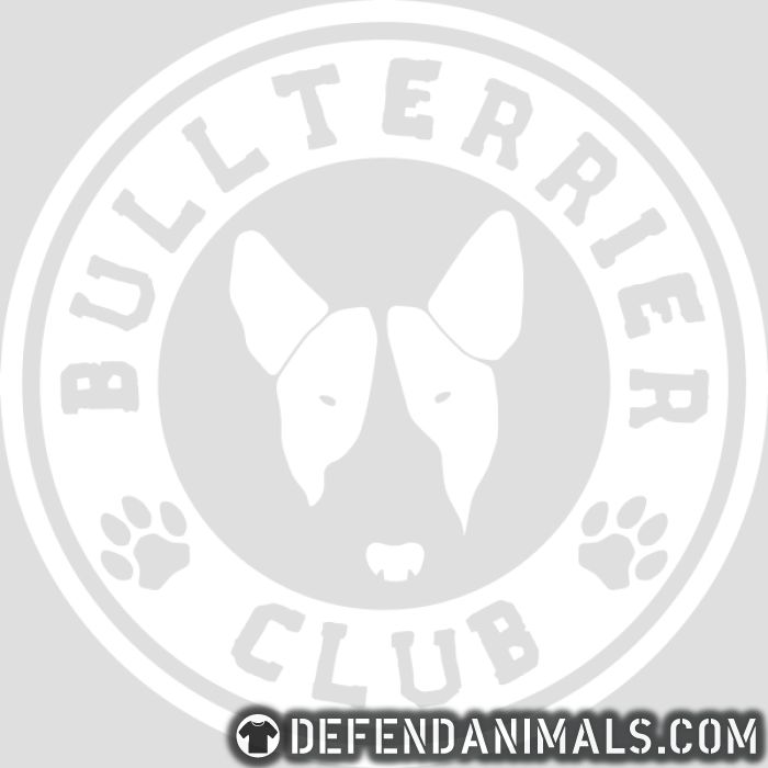 Bull Terrier Club - Dog Breeds T-shirt
