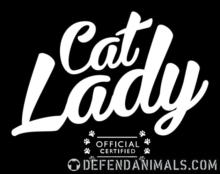 Cat lady official certified  - Cats Lovers Women Organic T-shirt