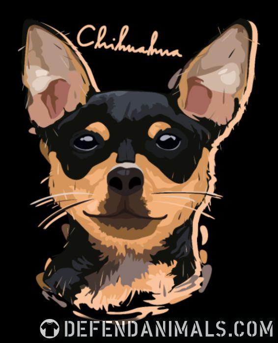 Chihuahua - Dog Breeds Women Organic T-shirt