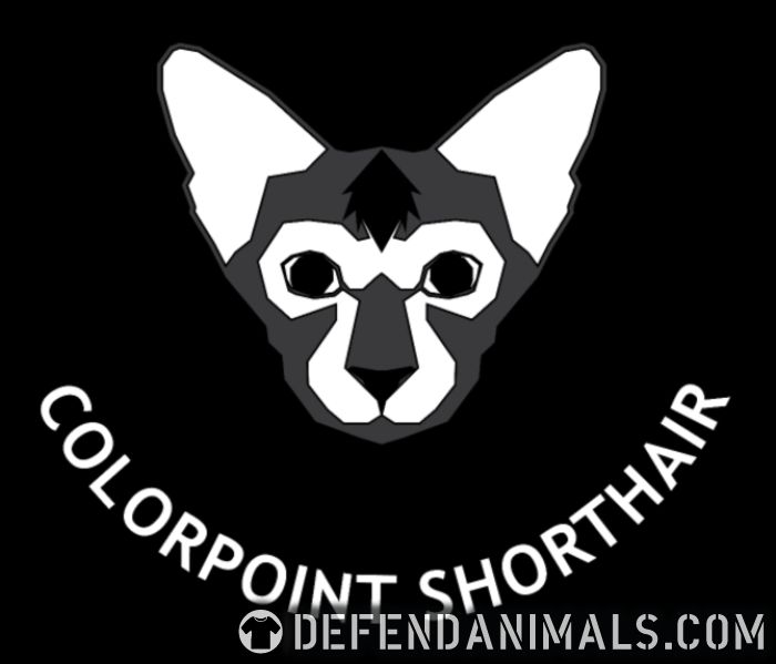 Colorpoint Shorthair Cat - Cat Breeds Women Organic T-shirt