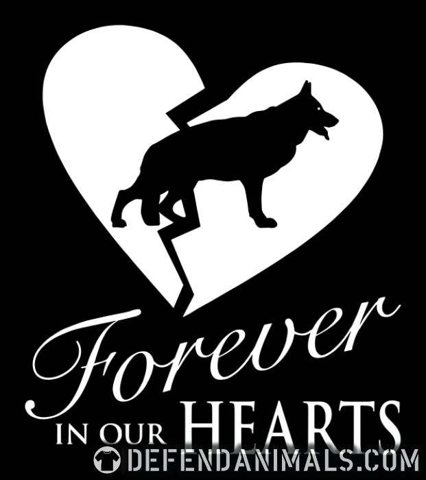 Forever in our hearts - Dog Breeds T-shirt