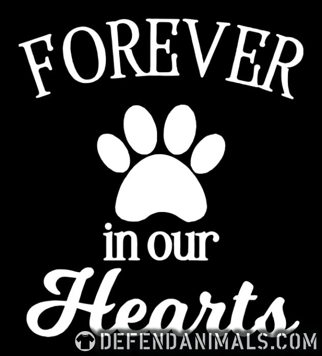 Forever in your hearts  - Dogs Lovers Women T-shirt