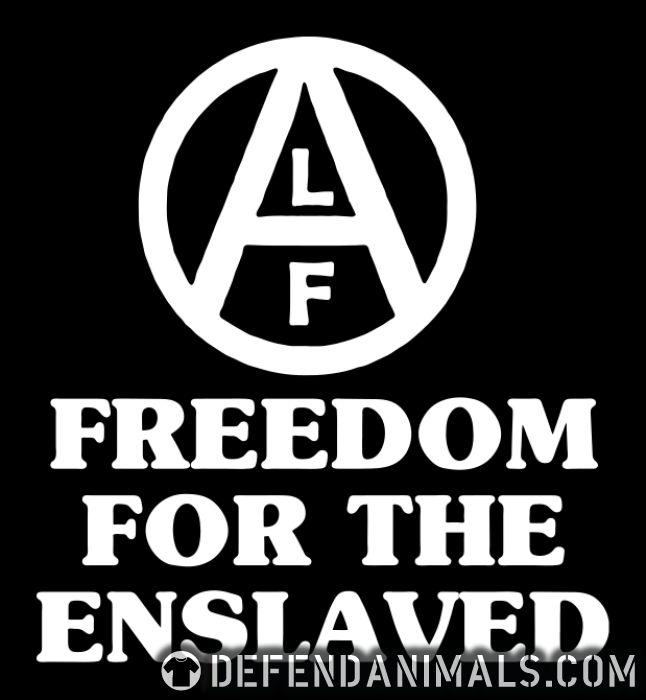 Freedom for the enslaved - Animal Rights Activism T-shirt