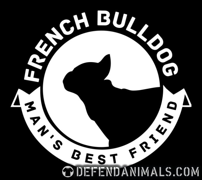 French Bulldog man's best friend