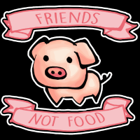 Friend not food  - Vegan T-shirt