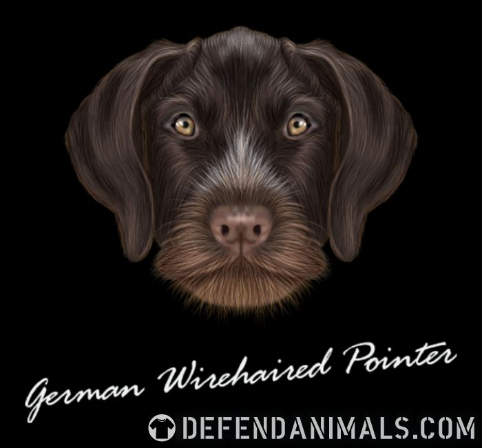 German Wirehaired Pointer · Dog Breed Hoodie · Defend Animals